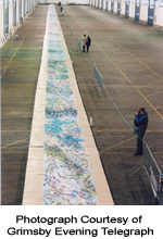 Full Lenght View Of Culture 5000 - Worlds longest painting