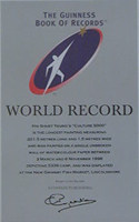 Guinees Book Of World Records Certificate